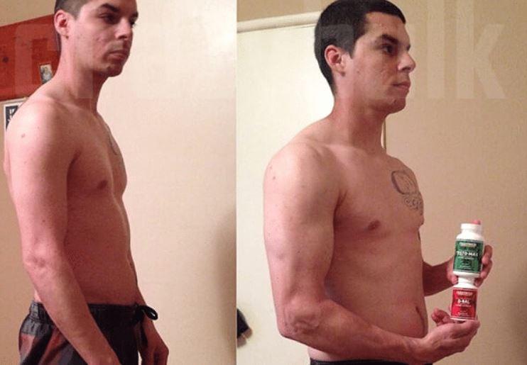 Testomax 8 weeks results